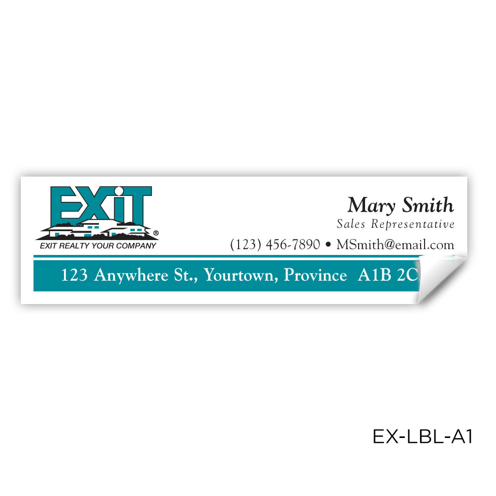 EXIT Realty Labels (3.5