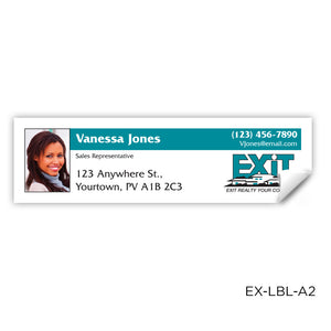"EXIT Realty Labels (3.5"" x 1"")"