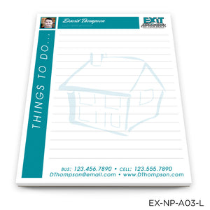 "EXIT Realty Notepads (4.25"" x 5.5"")"
