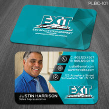 Load image into Gallery viewer, EXIT Realty Plastic Business Cards