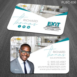 EXIT Realty Plastic Business Cards