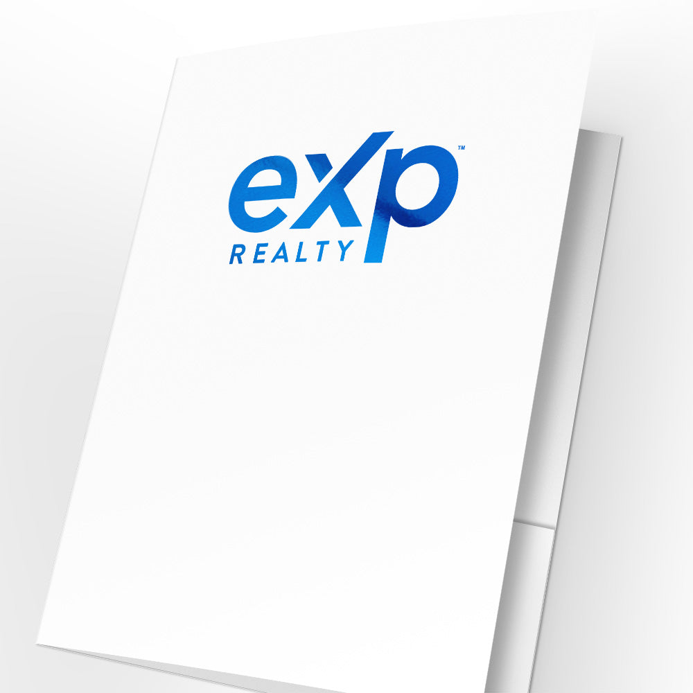eXp Realty Presentation Folders with Foil (25 pack)