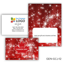 Load image into Gallery viewer, Canada Day Gift Card Holders