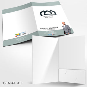Custom Printed Presentation Folders - Digital