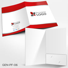 Load image into Gallery viewer, Custom Printed Presentation Folders - Digital