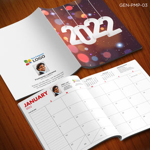 Personalized Monthly Planners