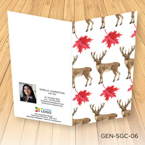 Holiday Slim Greeting Cards