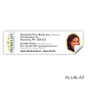 "HomeLife Labels (3.5"" x 1"")"