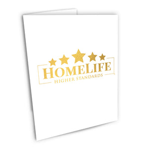 HomeLife Foiled Note Cards