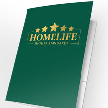 Load image into Gallery viewer, HomeLife Presentation Folders with Foil (25 pack)