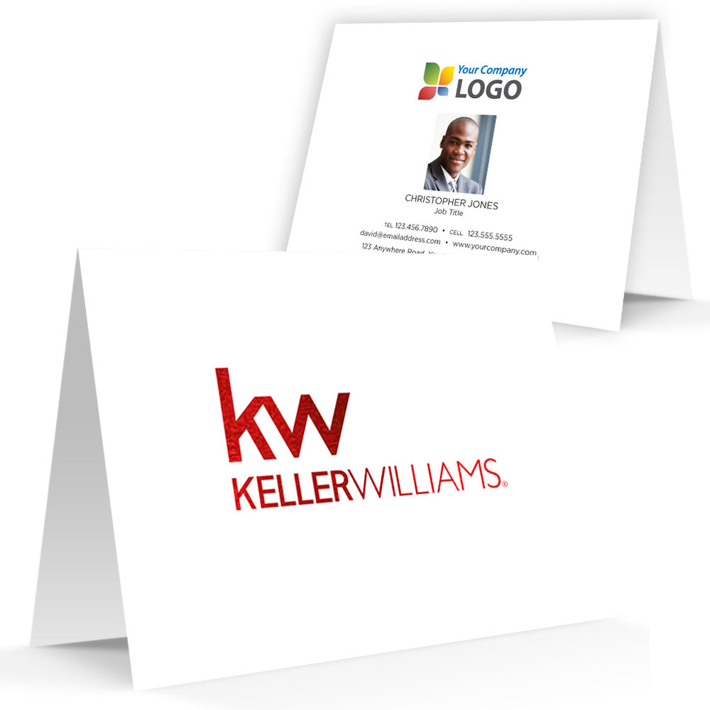 Keller Williams Printed Note Cards with Foil