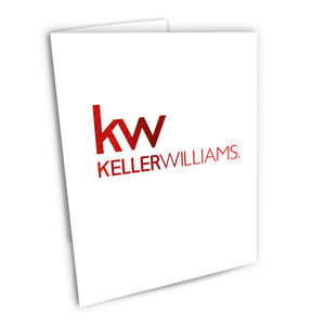 Keller Williams Foiled Note Cards