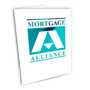 Mortgage Alliance Foiled Note Cards