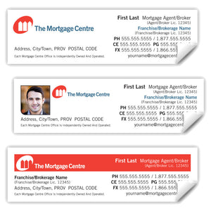 "The Mortgage Centre Labels (3.5"" x 1"")"