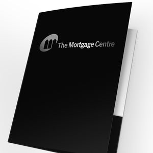 The Mortgage Centre Presentation Folders with Foil (25 pack)