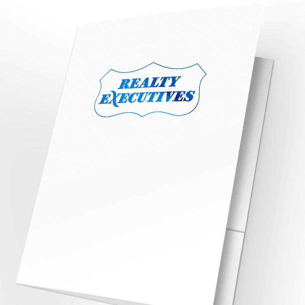 Realty Executives Presentation Folders with Foil (25 pack)