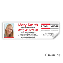 "Load image into Gallery viewer, Royal LePage Labels (3.5"" x 1"")"