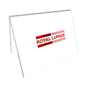Royal LePage Foiled Note Cards