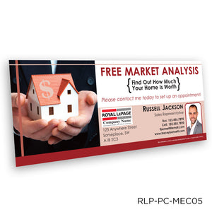 Royal LePage Market Analysis Certificates