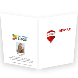 RE/MAX Printed Note Cards with Foil