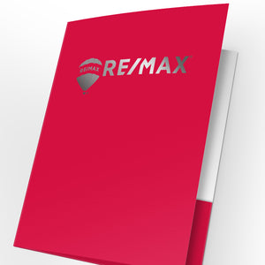 RE/MAX Presentation Folders with Foil (25 pack)