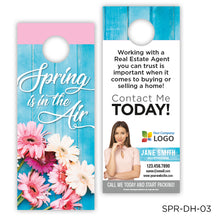 "Load image into Gallery viewer, Spring Door Hangers (3.5 x 8.5"")"