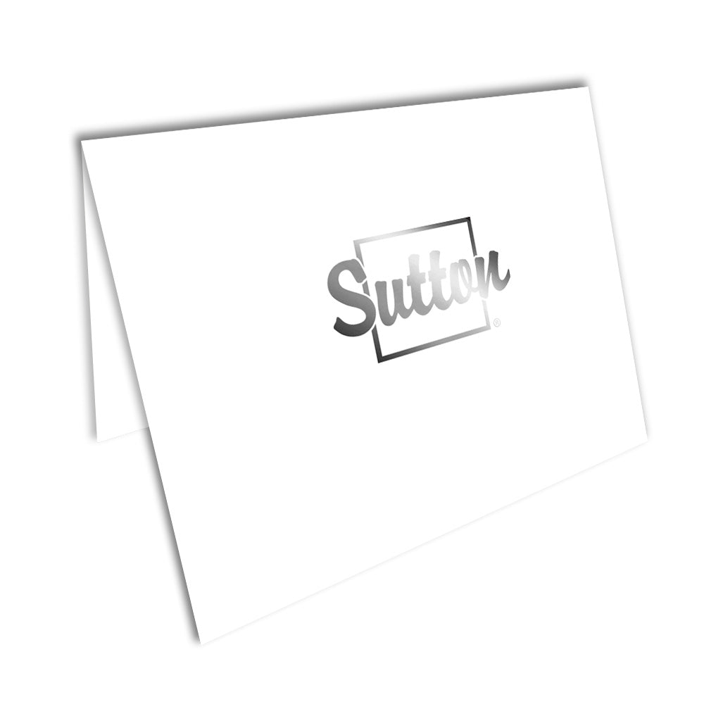 Sutton Foiled Note Cards