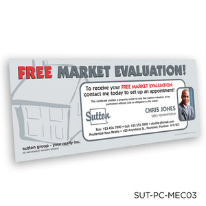 Sutton Market Analysis Certificates