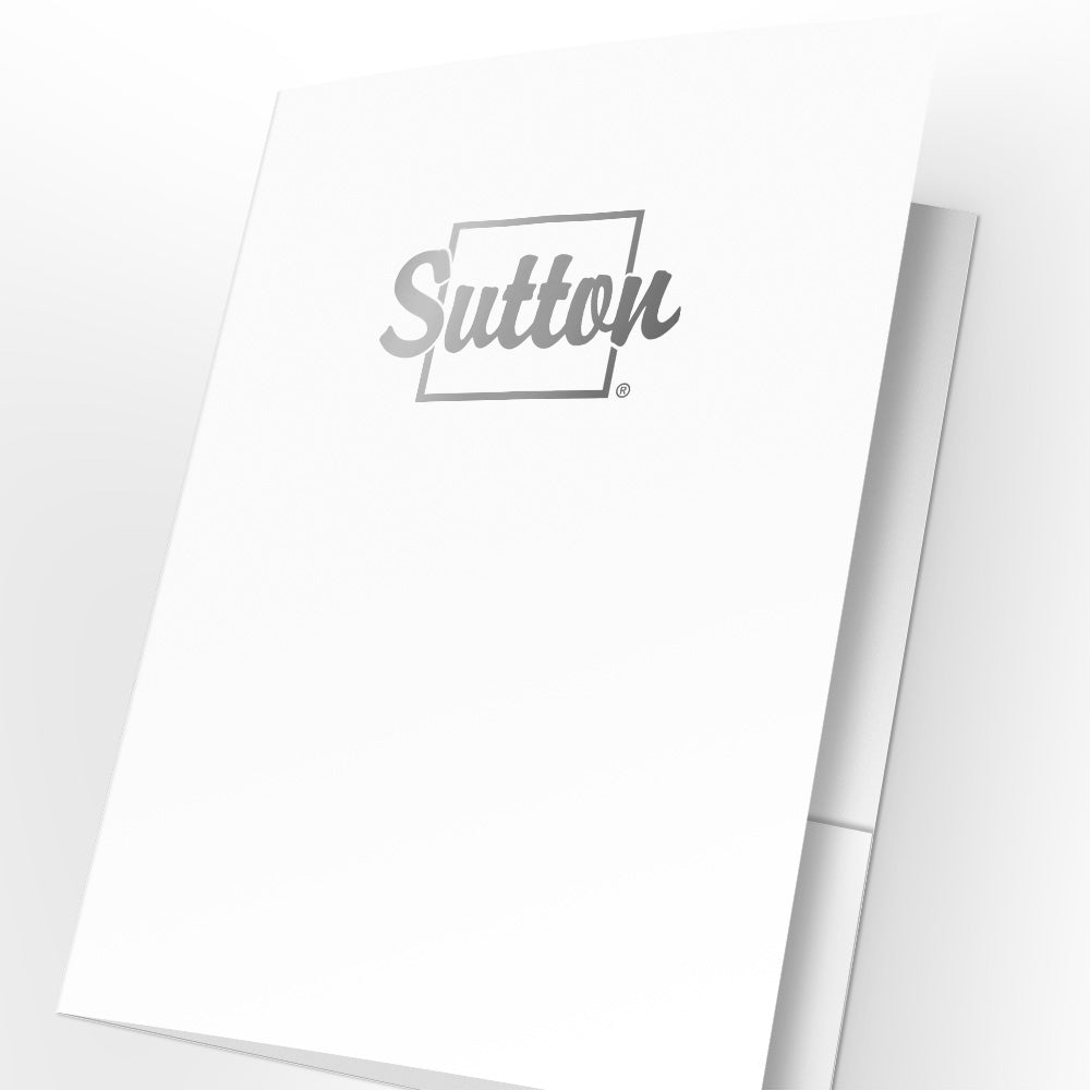 Sutton Presentation Folders with Foil (25 pack)