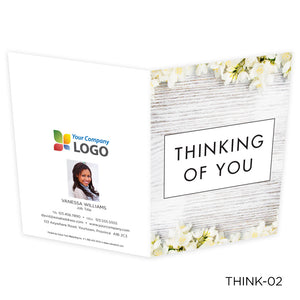 Note Cards Thinking of You (25 pack)