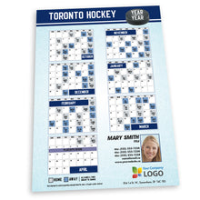Load image into Gallery viewer, Toronto Hockey Team Schedule Thin Magnet