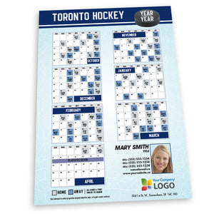 Toronto Hockey Team Schedule Thin Magnet