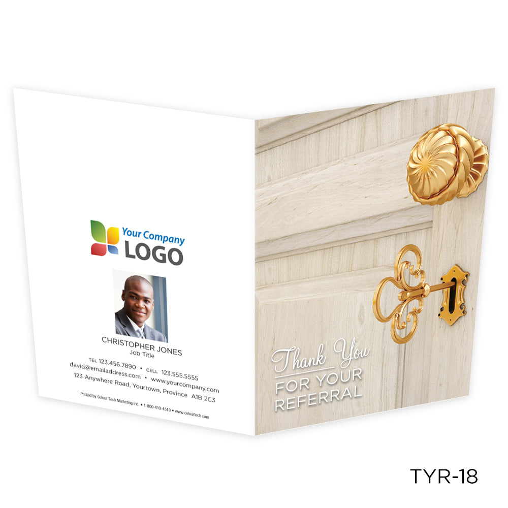 Note Cards Thank You Referral (25 pack)