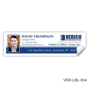 "Verico Labels (3.5"" x 1"")"