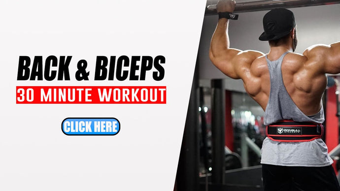 The Best 30-Minute Back and Bicep Workout to Build Muscle & Strength