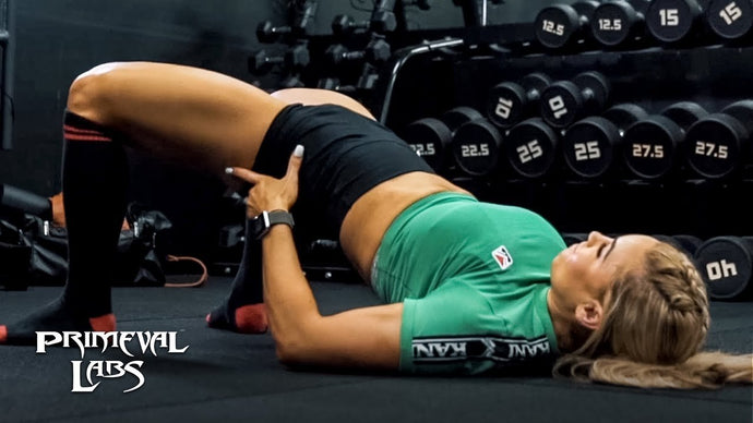 Stephanie Sanzo's Deadlifts & Full Glute Workout