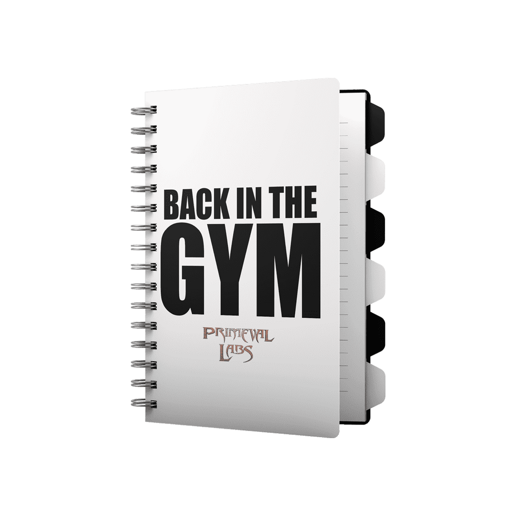 BACK TO THE GYM WORKOUT E-BOOK - Primeval Labs EU