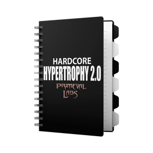 HARDCORE HYPERTROPHY 2.0 WORKOUT E-BOOK - Primeval Labs EU