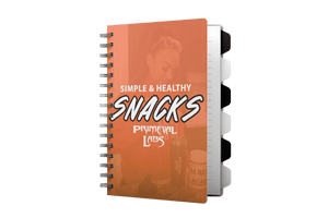 Simple & Healthy Snacks E-Book - Primeval Labs EU