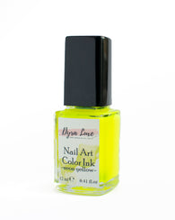 Nail Art Ink - Neon Yellow