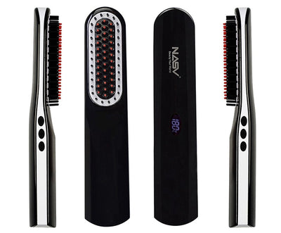 Cordless Mens Quick Beard Straightener Comb
