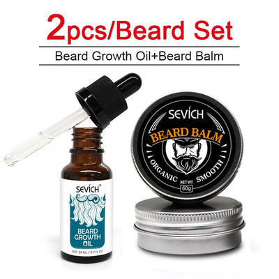 Men's Organic Beard Balm and Oil