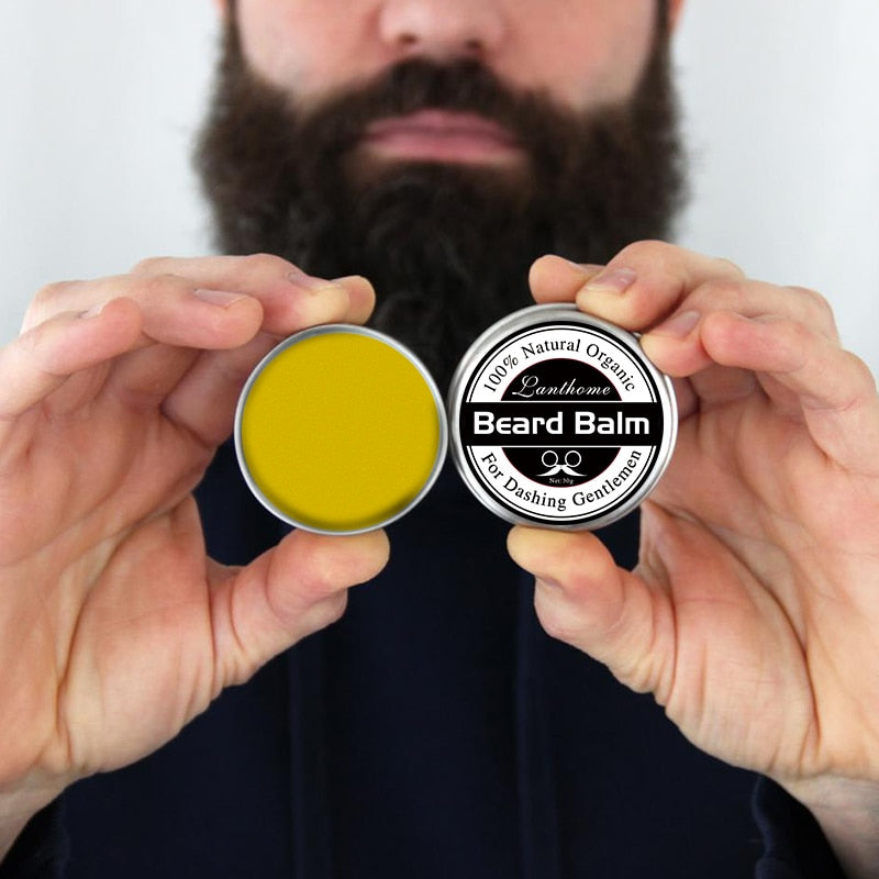 Top Quality Small Size Natural Beard Conditioner Balm