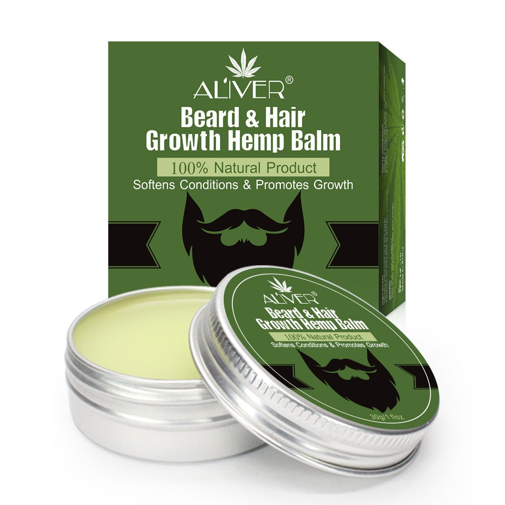 Men's Organic Hemp Oil Beard Balm