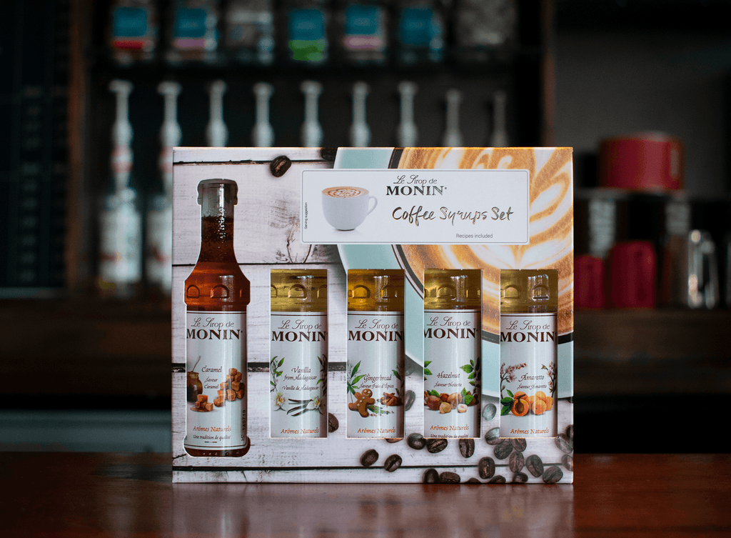Monin Syrup Coffee Gift Set