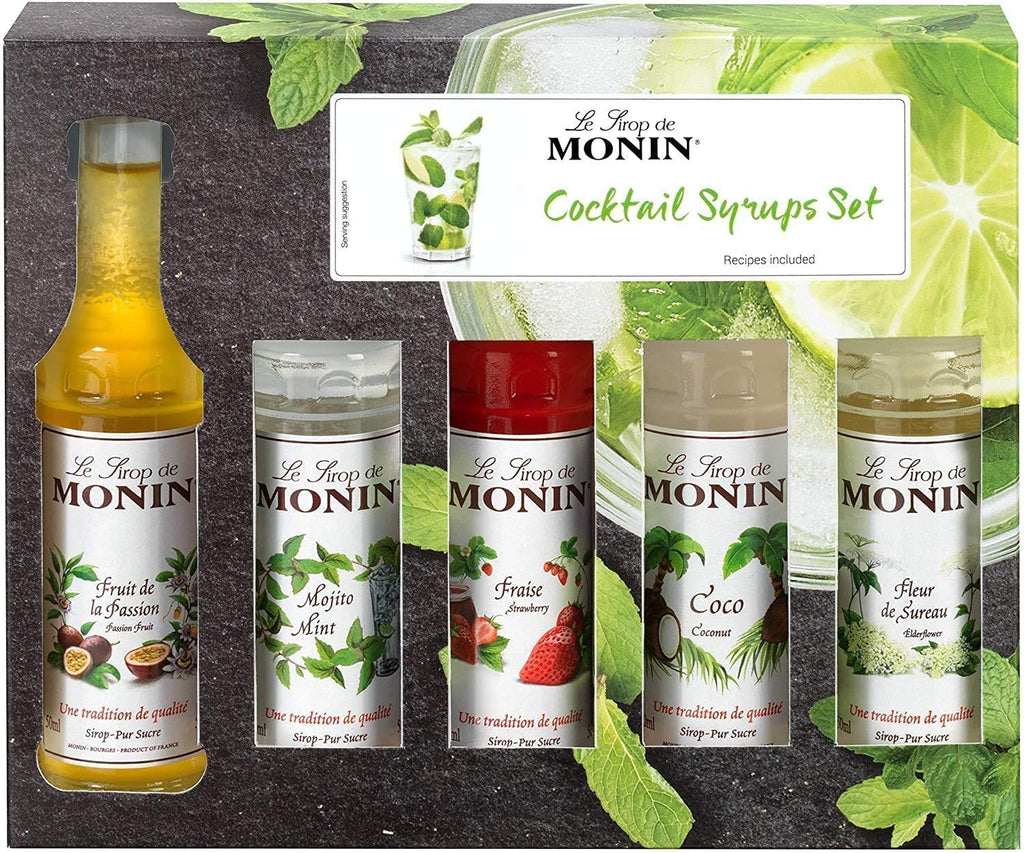 Monin Syrup Cocktail Gift Set