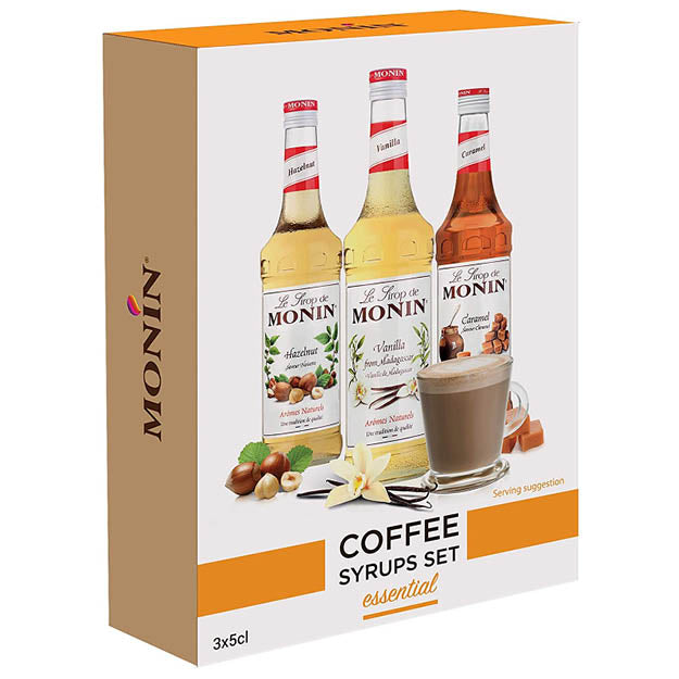 Monin Syrup Essential Coffee Gift Set
