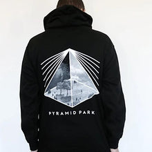 Load image into Gallery viewer, Pyramid Park Classic Black And White Hoodie