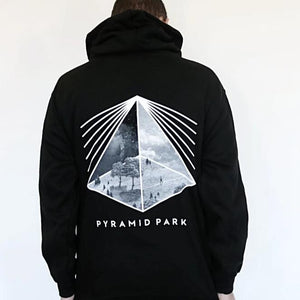 Pyramid Park Classic Black And White Hoodie