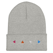 Load image into Gallery viewer, Triangle Cuffed Beanie